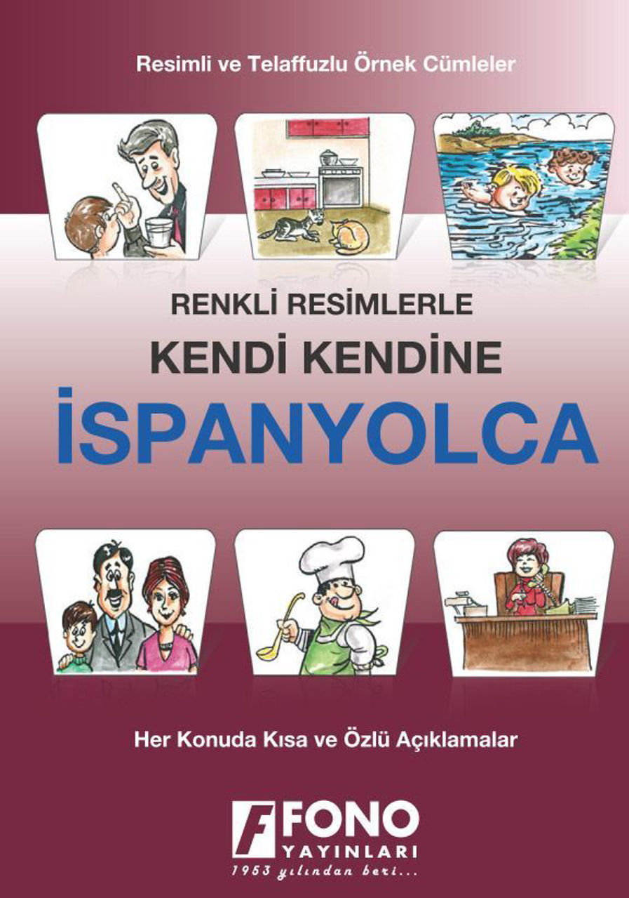 Picture of Resimlerle İspanyolca